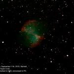 Dumbell nebula (M27) C8, Mallincam MCHP, 6x28secs