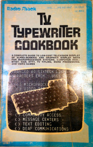 TV Typewriter Cookbook by Don Lancaster